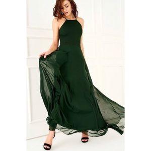 Dresses & Skirts - Green Maxi Dress